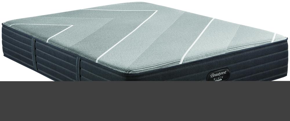 Beautyrest - Beautyrest Black X Class Hybrid Plush Mattress with BR Black Luxury Motion Base