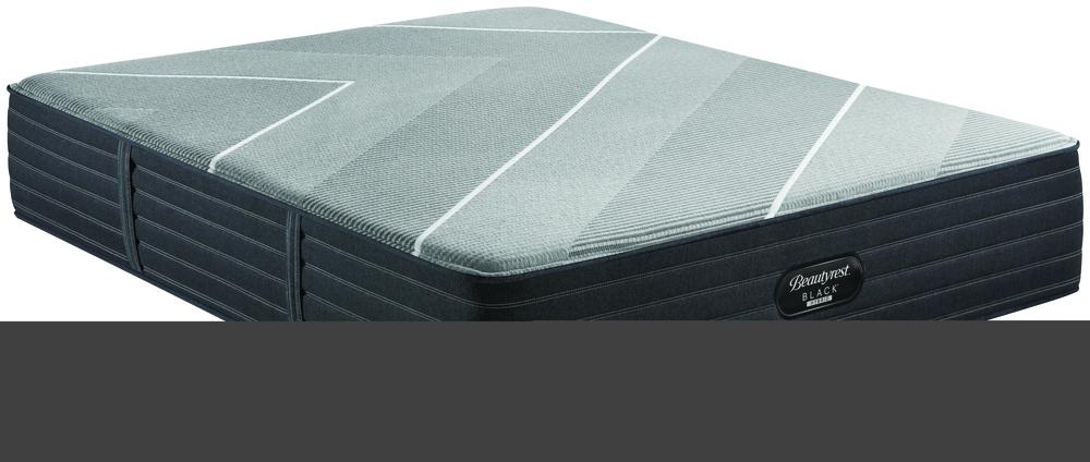 Beautyrest - Beautyrest Black X Class Hybrid Firm Mattress with BR Black Luxury Motion Base