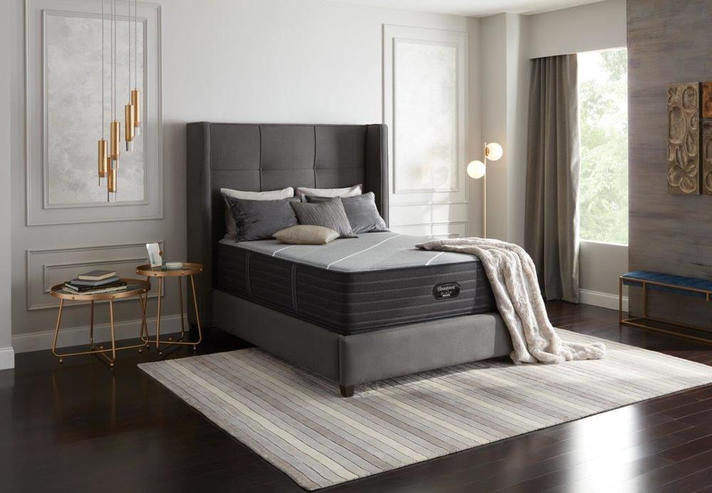 Beautyrest - Beautyrest Black X Class Hybrid Firm Mattress with Standard Box Spring