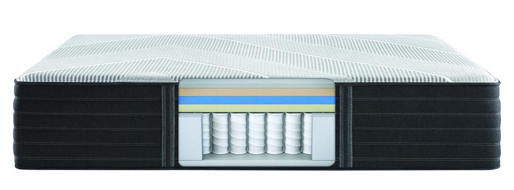 Beautyrest - Beautyrest Black X Class Hybrid Ultra Plush Mattress with Standard Box Spring
