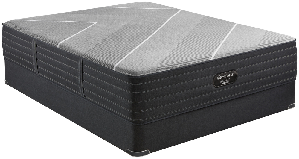 Beautyrest - Beautyrest Black X Class Hybrid Ultra Plush Mattress with Standard Box Spring
