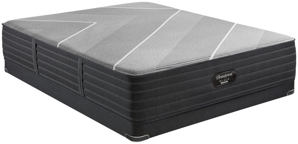 Beautyrest - Beautyrest Black X Class Hybrid Ultra Plush Mattress with Low Profile Box Spring