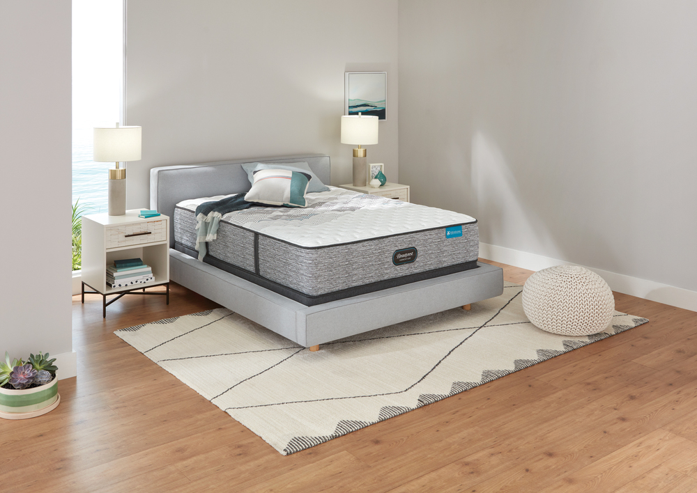 Beautyrest - Beautyrest Harmony Lux Carbon Extra Firm Mattress with Standard Box Spring