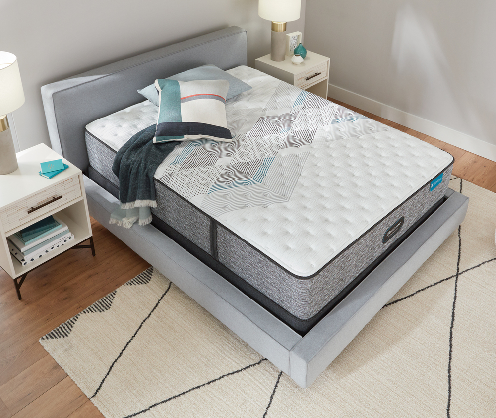 Beautyrest - Beautyrest Harmony Lux Carbon Extra Firm Mattress with BR Advanced Motion Base
