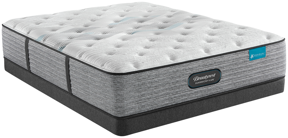 Beautyrest - Beautyrest Harmony Lux Carbon Plush Mattress with Low Profile Box Spring