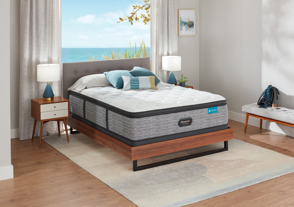 Beautyrest - Beautyrest Harmony Lux Diamond Ultra Plush Pillowtop Mattress with Standard Box Spring