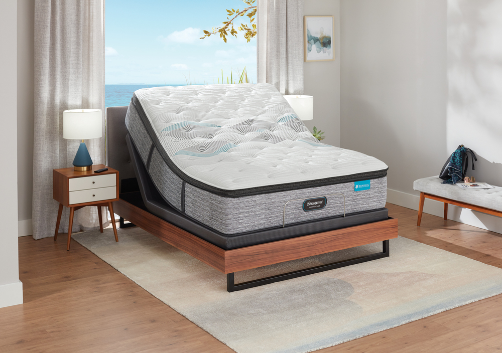 Beautyrest - Beautyrest Harmony Lux Diamond Ultra Plush Pillowtop Mattress with BR Advanced Motion Base