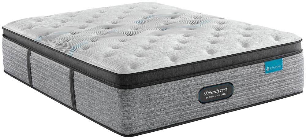 Beautyrest - Beautyrest Harmony Lux Diamond Ultra Plush Pillowtop Mattress with BR Advanced Motion Base