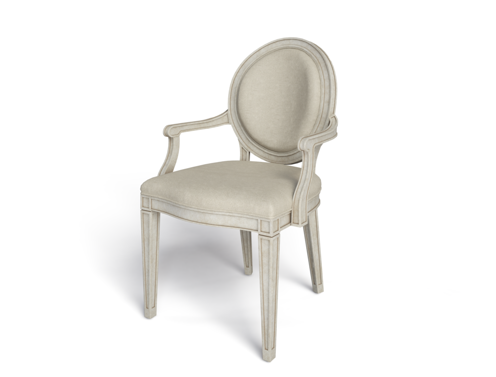 Stanley Furniture - Oval Arm Chair