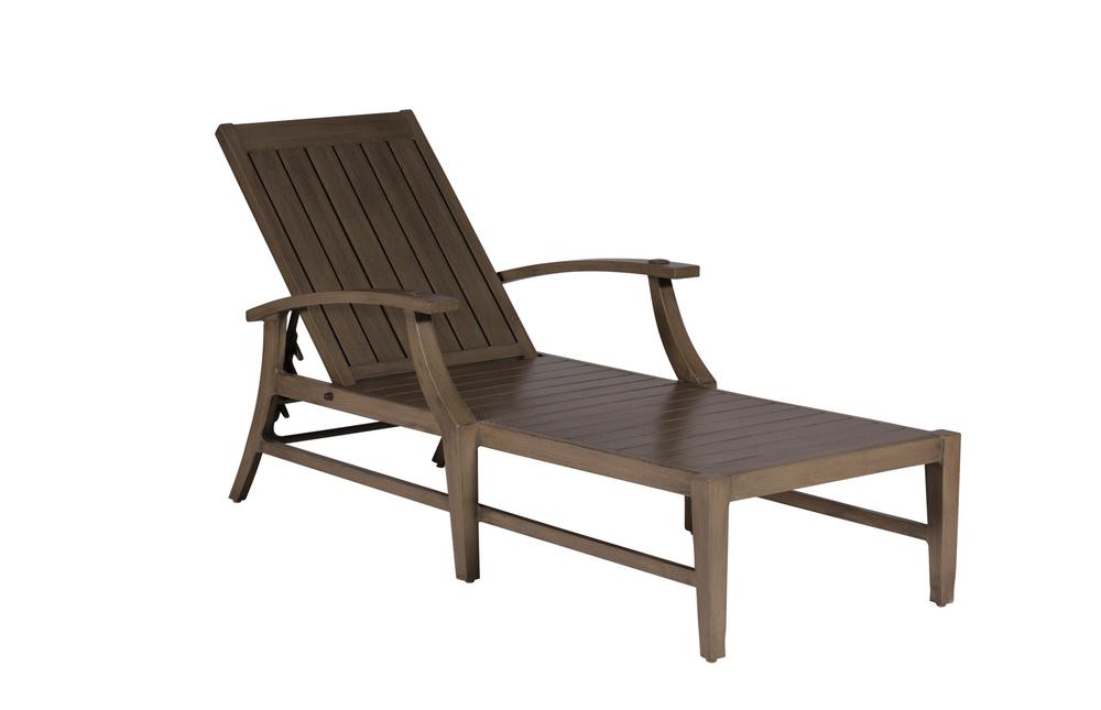 Summer Classics - Croquet Aluminum Chaise Lounge