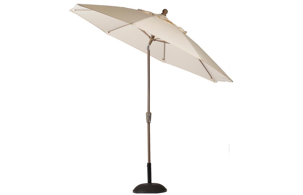 Summer Classics - 9' Crank Auto Tilt Umbrella