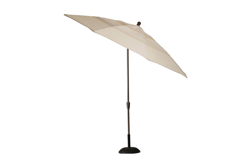 Summer Classics - 11' Crank Auto Tilt Umbrella