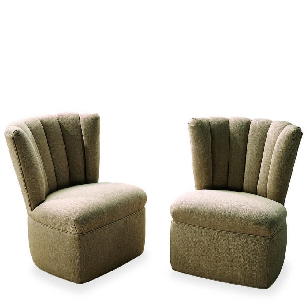 Swaim Kaleidoscope - Armless Swivel Chair