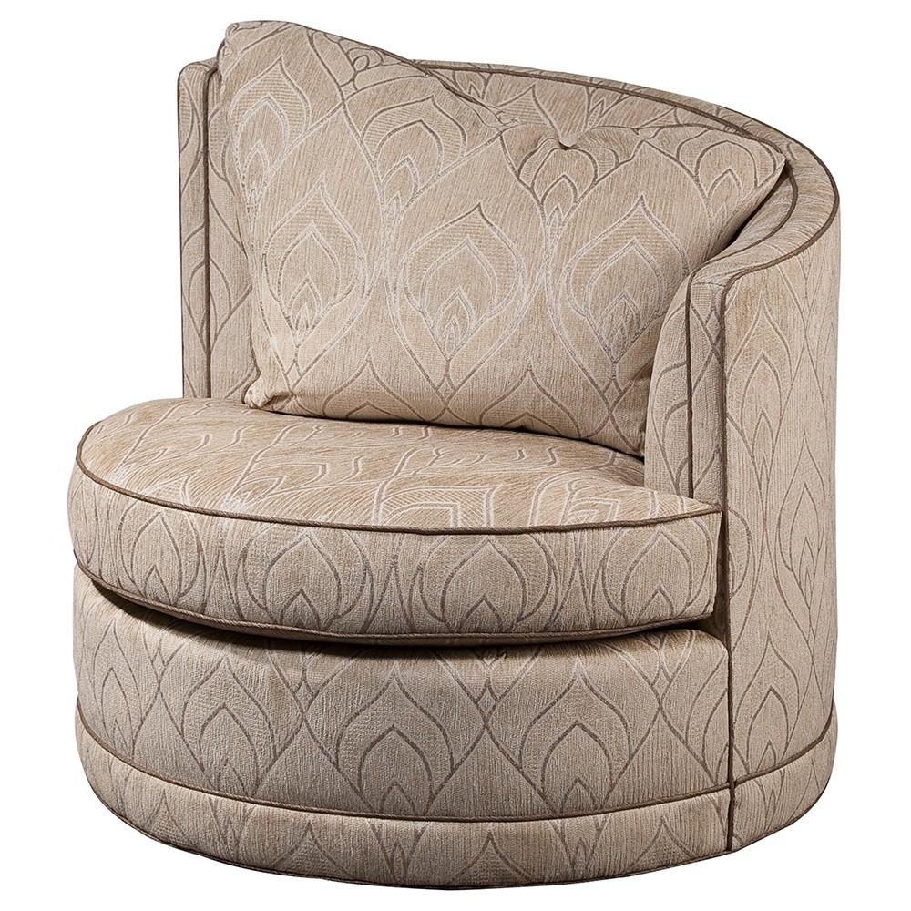 Swaim Originals - High Arm Swivel Chair