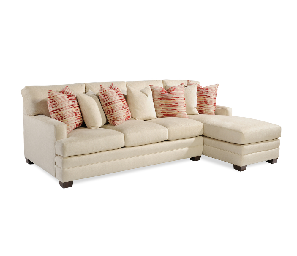 Taylor King Fine Furniture - Sofa and Chaise Sectional