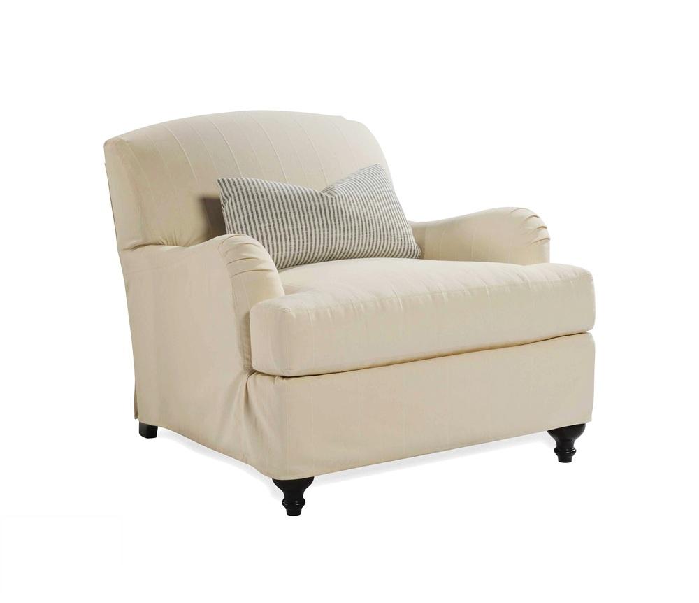 Taylor King Fine Furniture - Libellus Mini Slipcover Chair