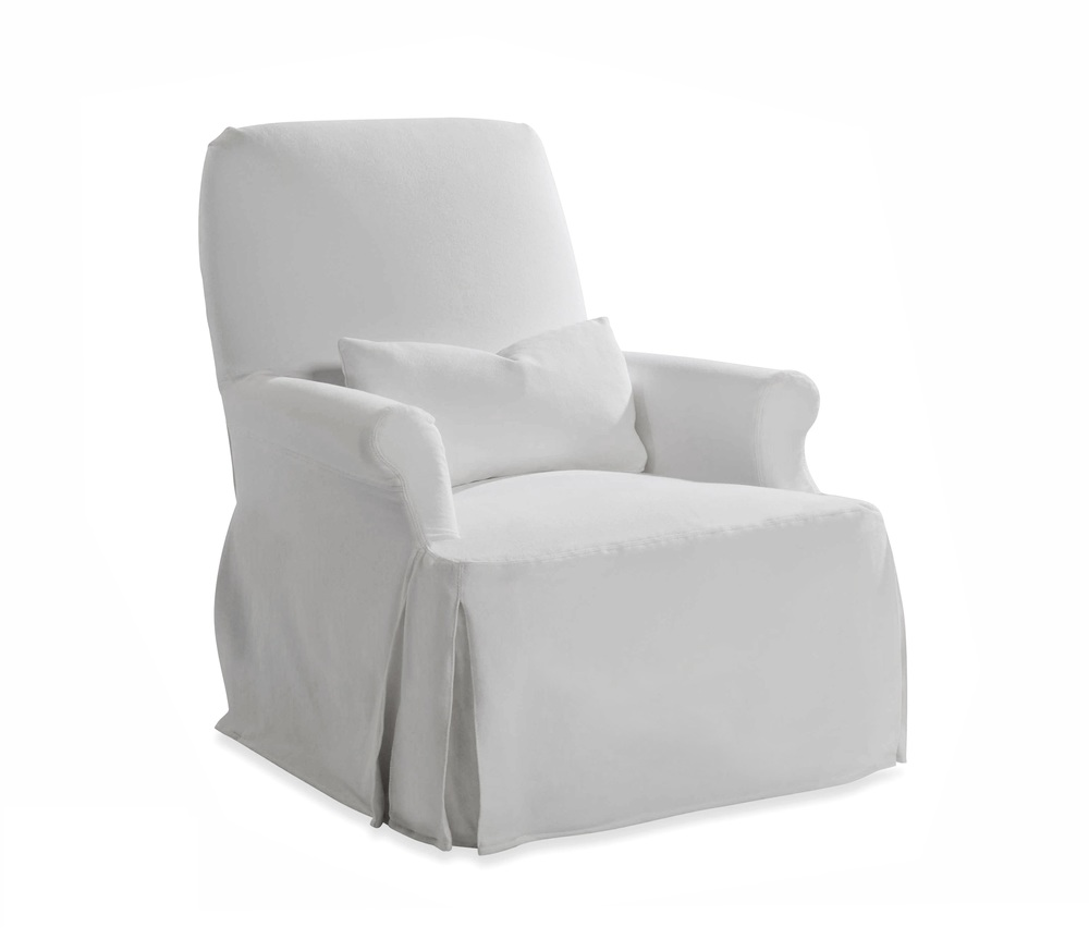 Taylor King Fine Furniture - Thinking Slipcover Chair