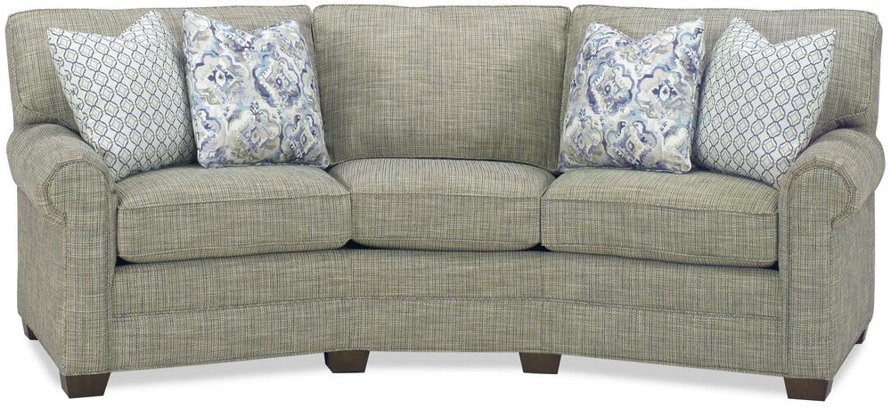 Temple Furniture - Remington Curved Sofa