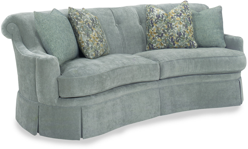Temple Furniture - First Lady Curved Sofa