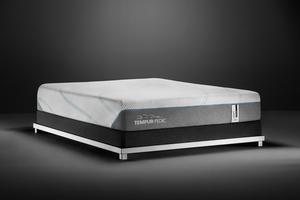Thumbnail of Tempur-Pedic - Adapt Medium Hybrid Mattress with Ultra Low Profile Box Spring