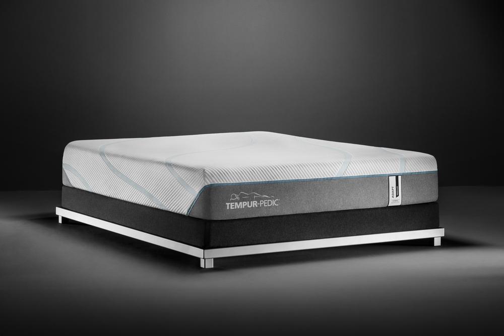 Tempur-Pedic - Adapt Medium Hybrid Mattress with Ultra Low Profile Box Spring