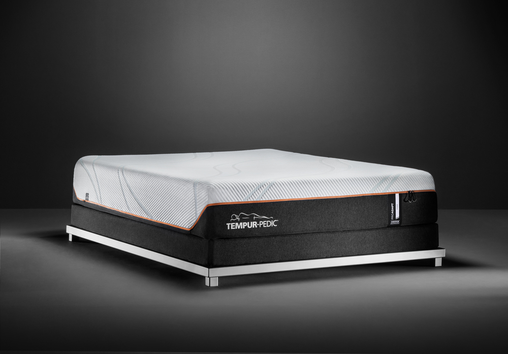 Tempur-Pedic - ProAdapt Firm Mattress with Ultra Low Profile Box Spring