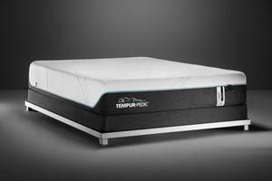Thumbnail of Tempur-Pedic - ProAdapt Medium Hybrid Mattress with Ultra Low Profile Box Spring