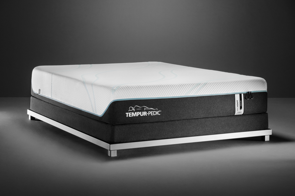Tempur-Pedic - ProAdapt Medium Hybrid Mattress with Ultra Low Profile Box Spring