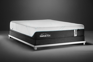 Thumbnail of Tempur-Pedic - ProAdapt Medium Hybrid Mattress with Ultra Low Profile Box Spring