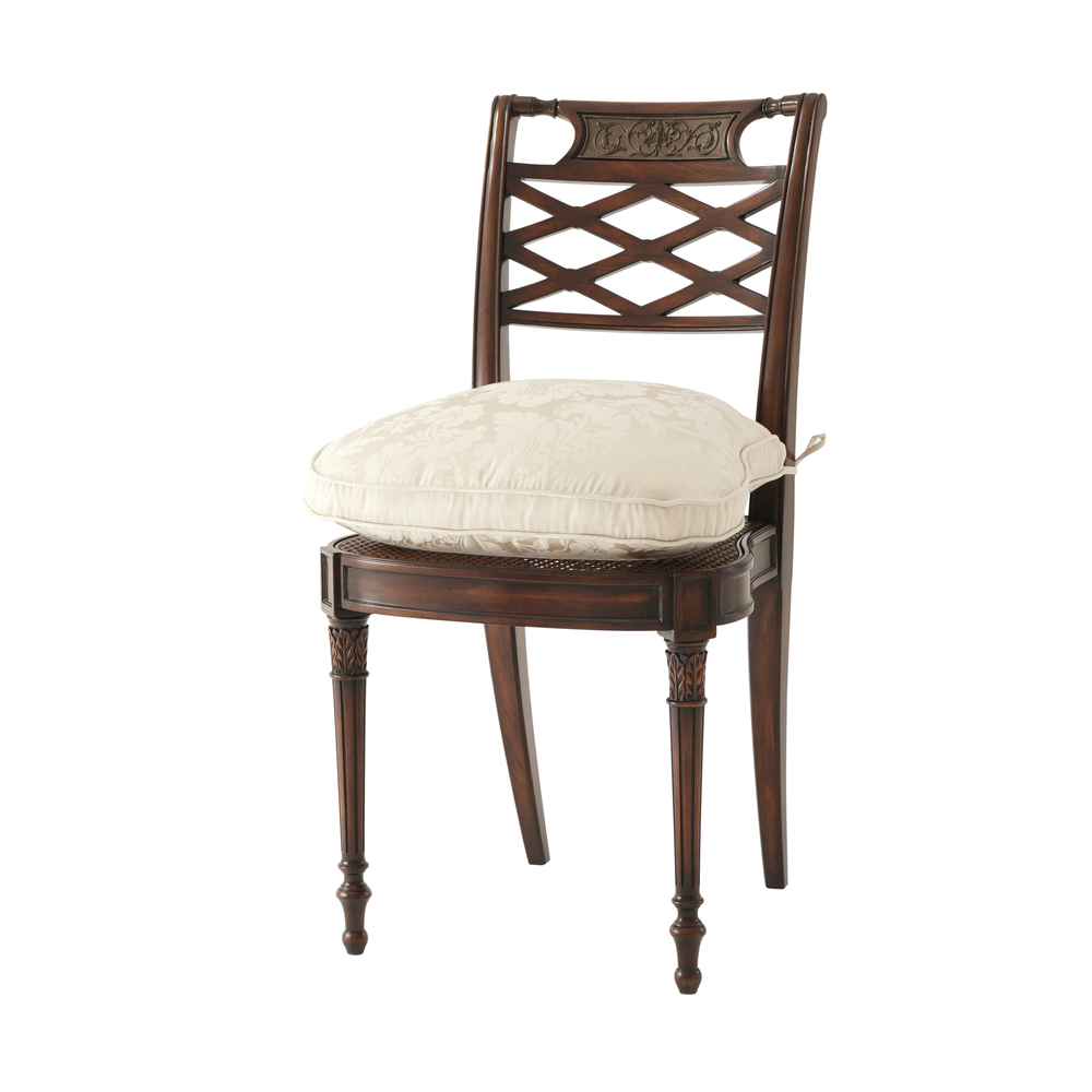 Theodore Alexander - Adorned with Silk Bows Side Chair