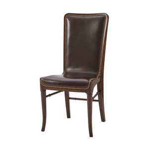 Thumbnail of Theodore Alexander - Leather Sling Dining Chair
