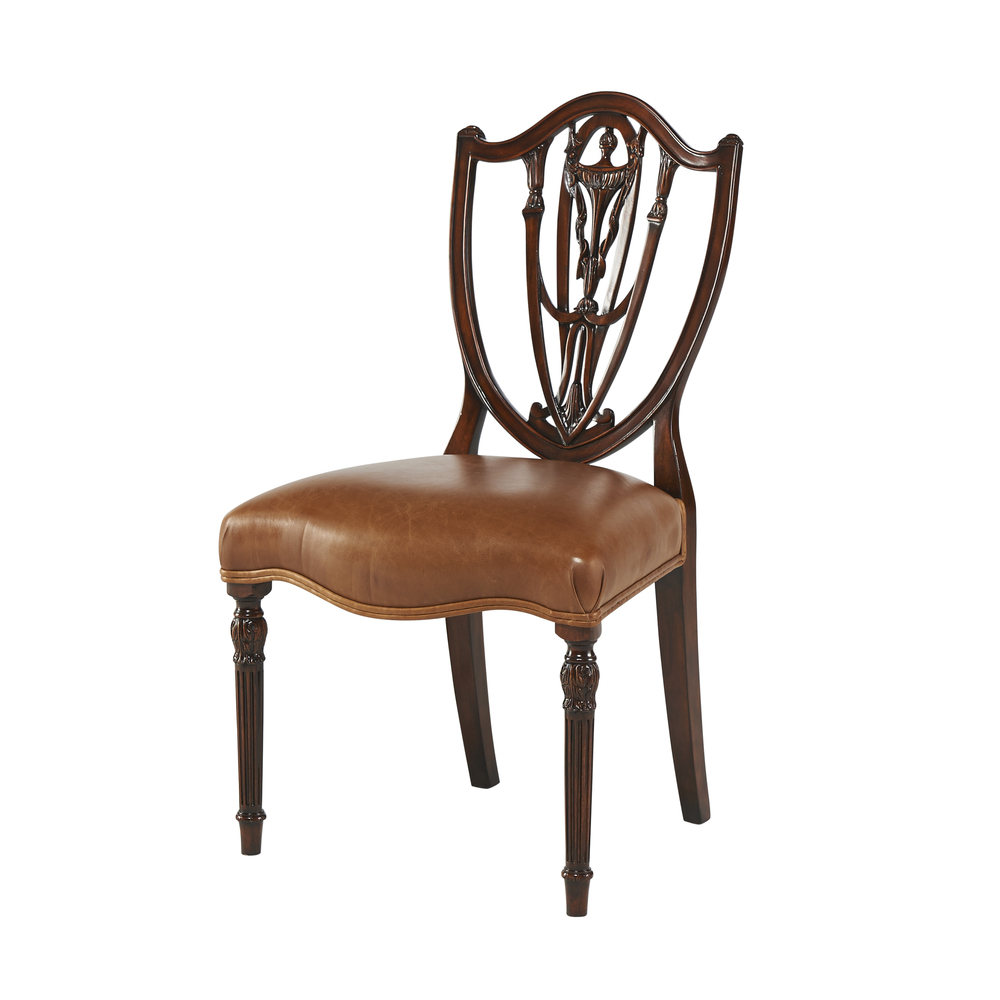 THEODORE ALEXANDER - The Hidden Vase Side Chair
