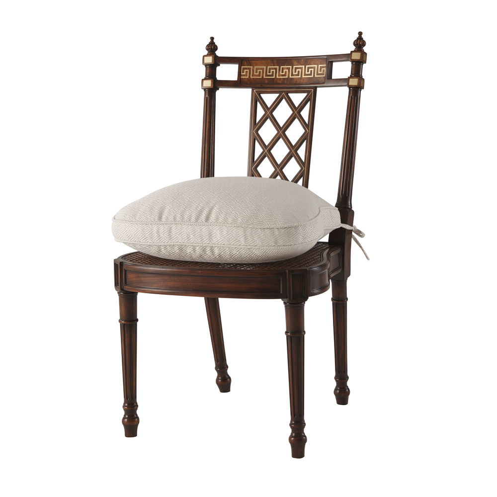THEODORE ALEXANDER - Greek Key Side Chair