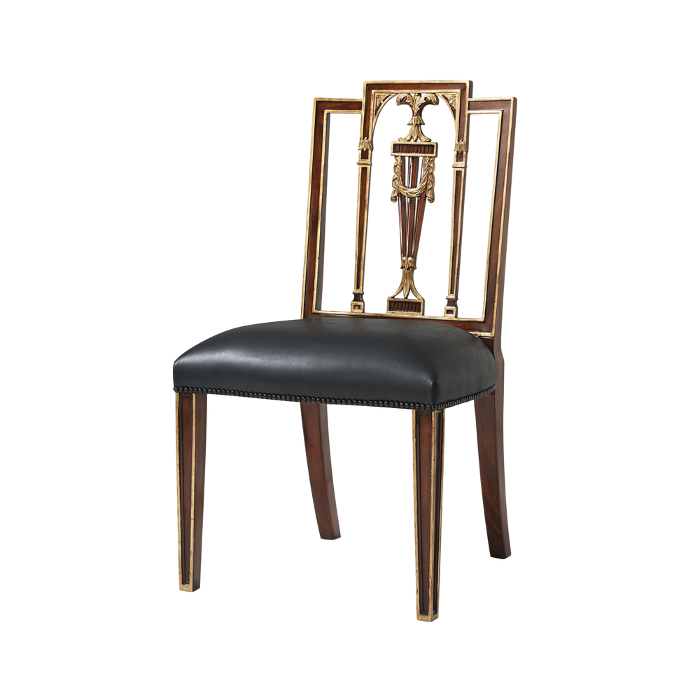 Theodore Alexander - Formal Lines Side Chair
