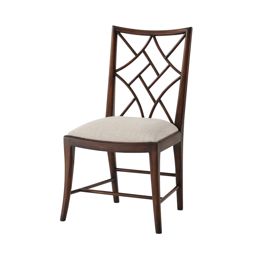 Theodore Alexander - A Delicate Trellis Side Chair