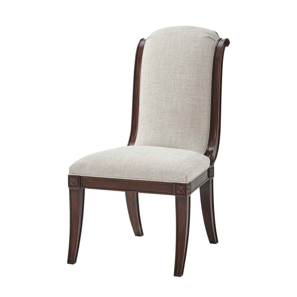THEODORE ALEXANDER - Gabrielle Side Chair