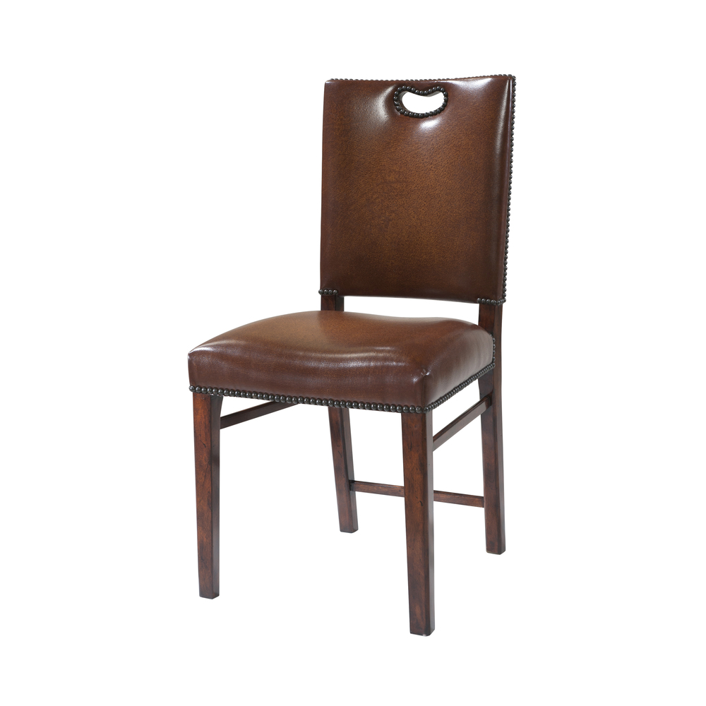 THEODORE ALEXANDER - Tireless Campaign Side Chair
