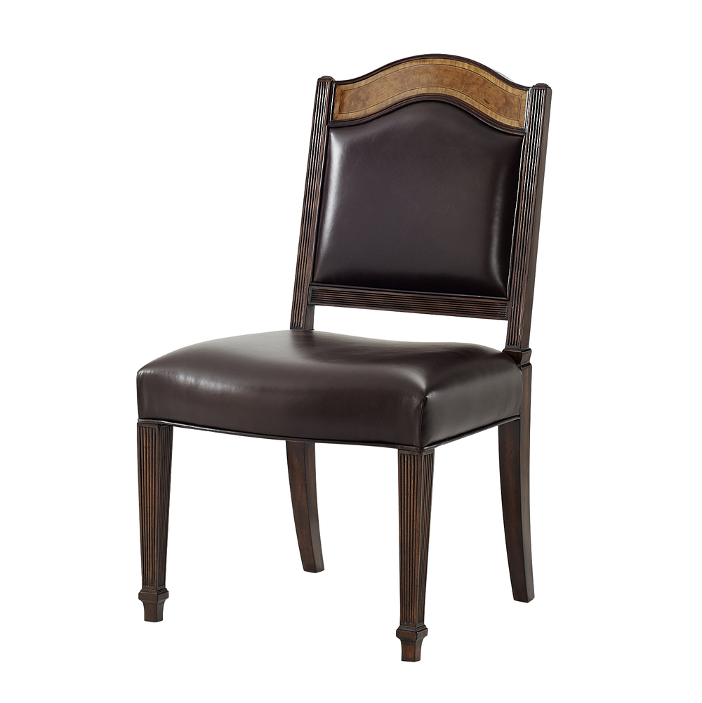 THEODORE ALEXANDER - Sheraton's Satinwood Side Chair