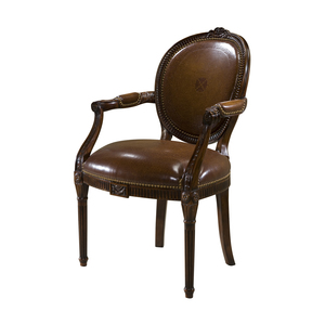 Thumbnail of THEODORE ALEXANDER - A Hand Carved Neo-Classical Arm Chair