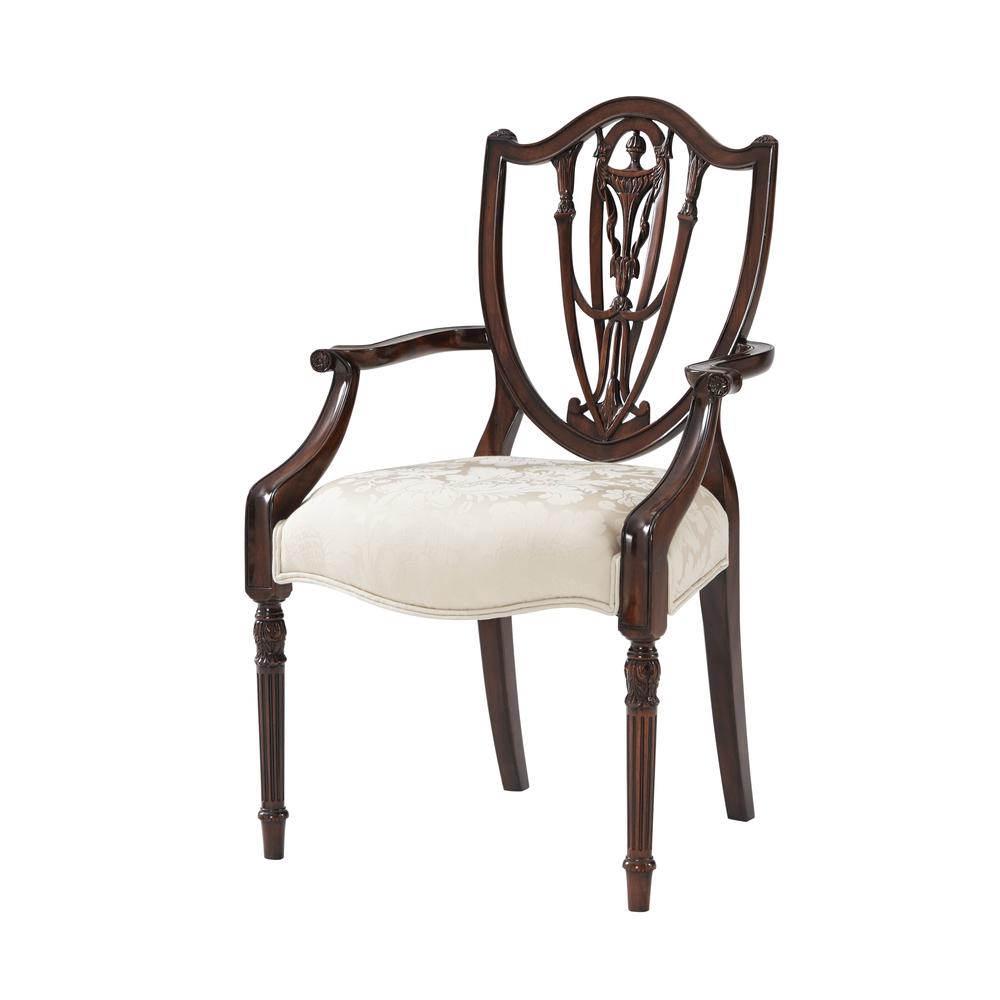 Theodore Alexander - The Hidden Vase Arm Chair