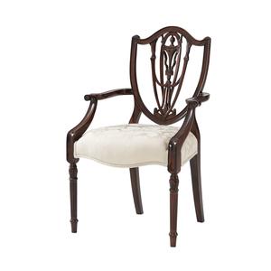 Thumbnail of Theodore Alexander - The Hidden Vase Arm Chair