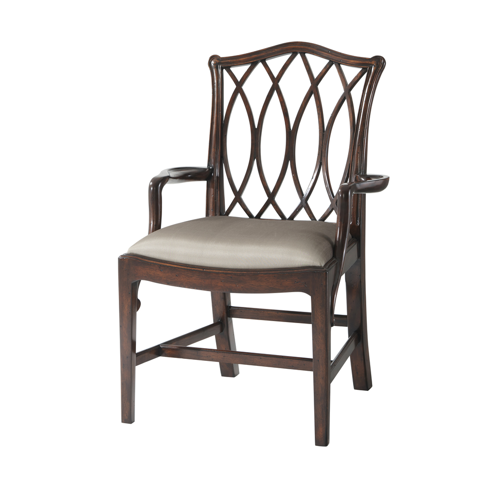 Theodore Alexander - The Trellis Dining Arm Chair