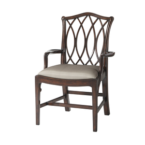 Thumbnail of Theodore Alexander - The Trellis Dining Arm Chair
