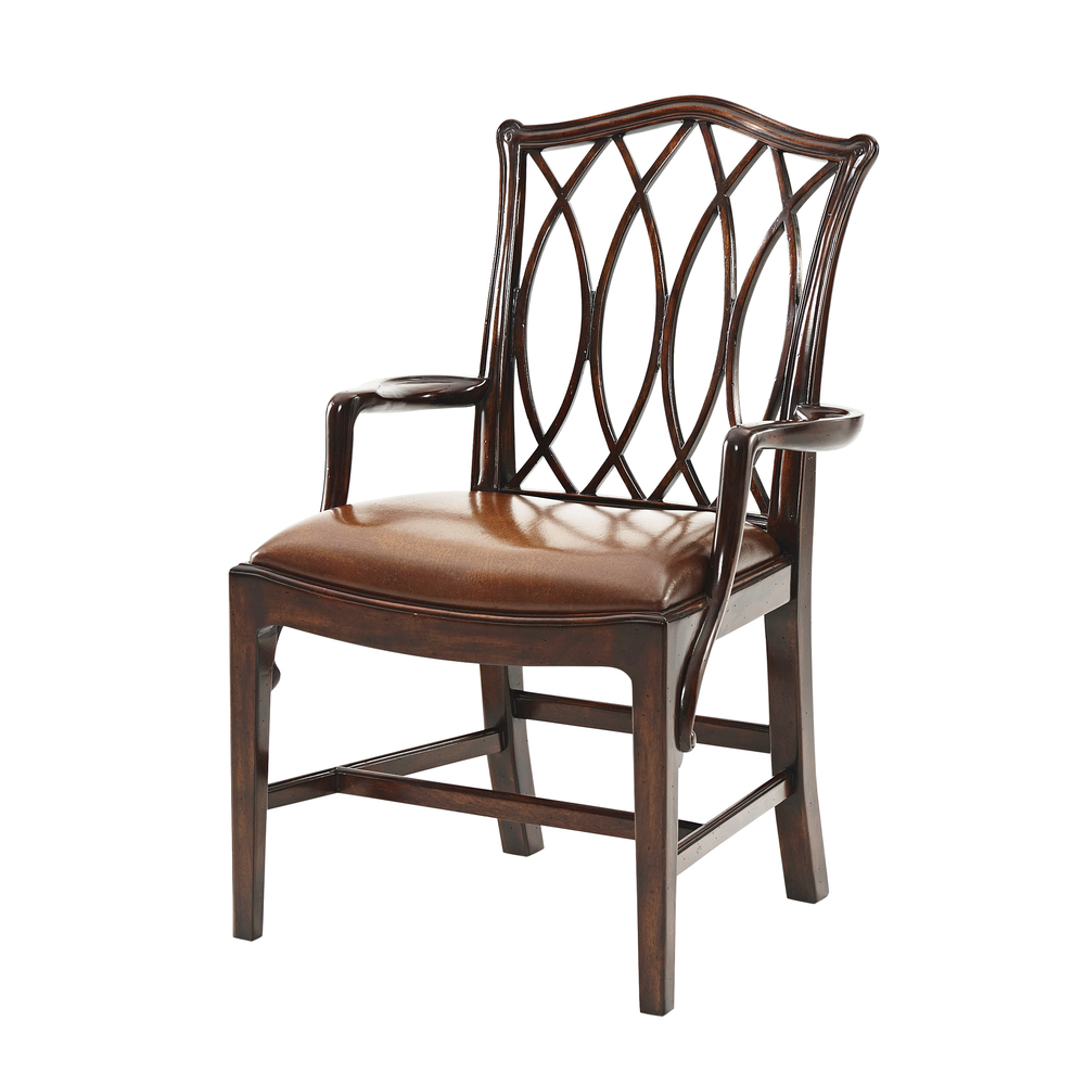 Theodore Alexander - The Trellis Dining Arm Chair