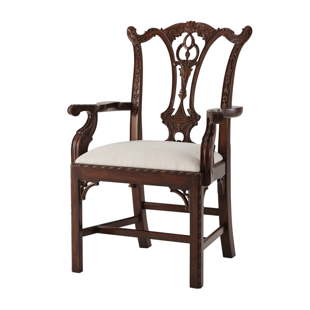 Theodore Alexander - Mrs Chippendale's Formal Arm Chair