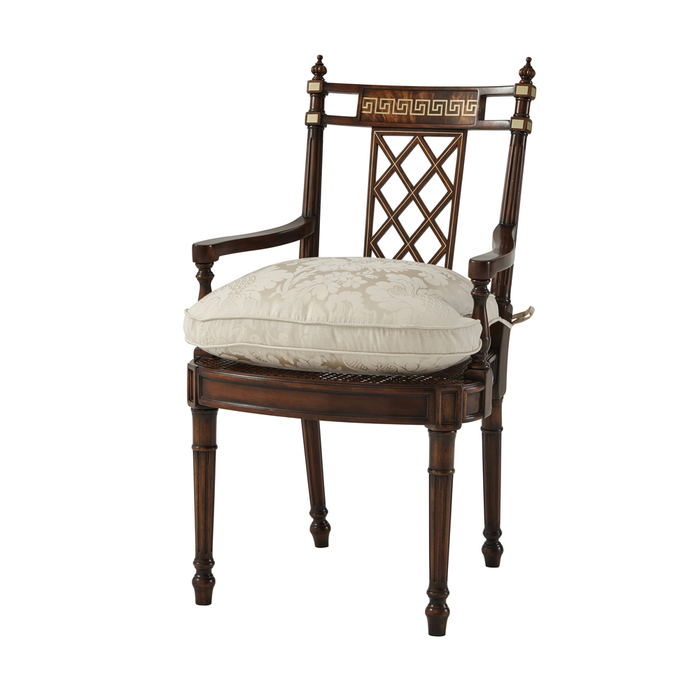 Theodore Alexander - Greek Key Arm Chair