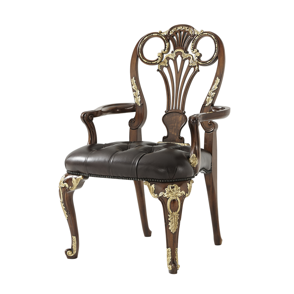 THEODORE ALEXANDER - The Raconteur Dining Chair