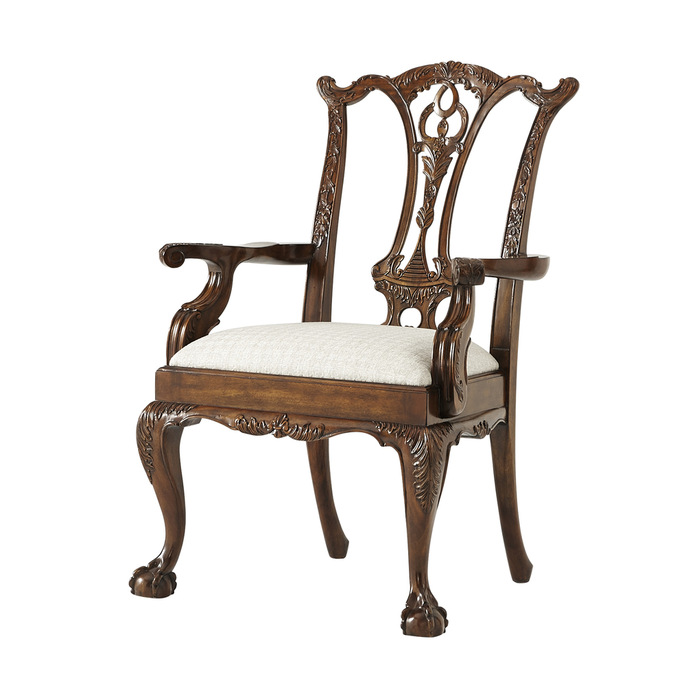 Theodore Alexander - Classic Claw and Ball Arm Chair
