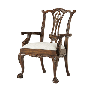 Thumbnail of Theodore Alexander - Classic Claw and Ball Arm Chair