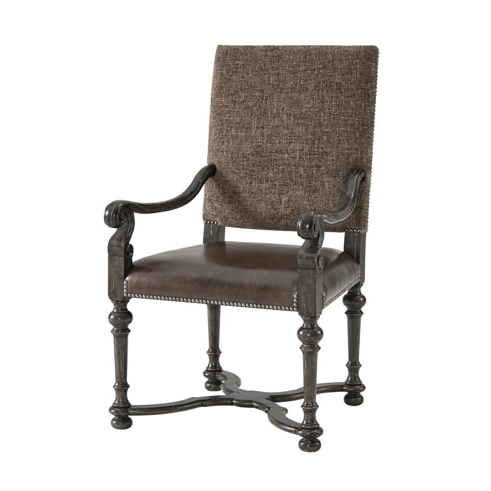 THEODORE ALEXANDER - Ione Arm Chair